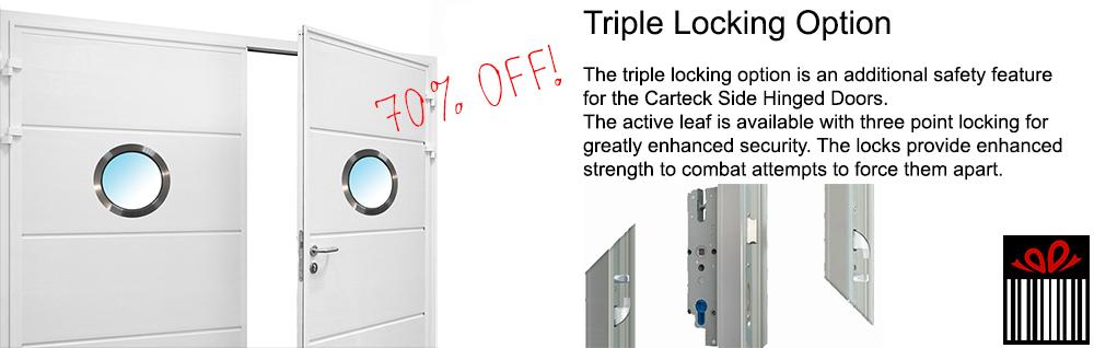 triple point locking upgrade offer