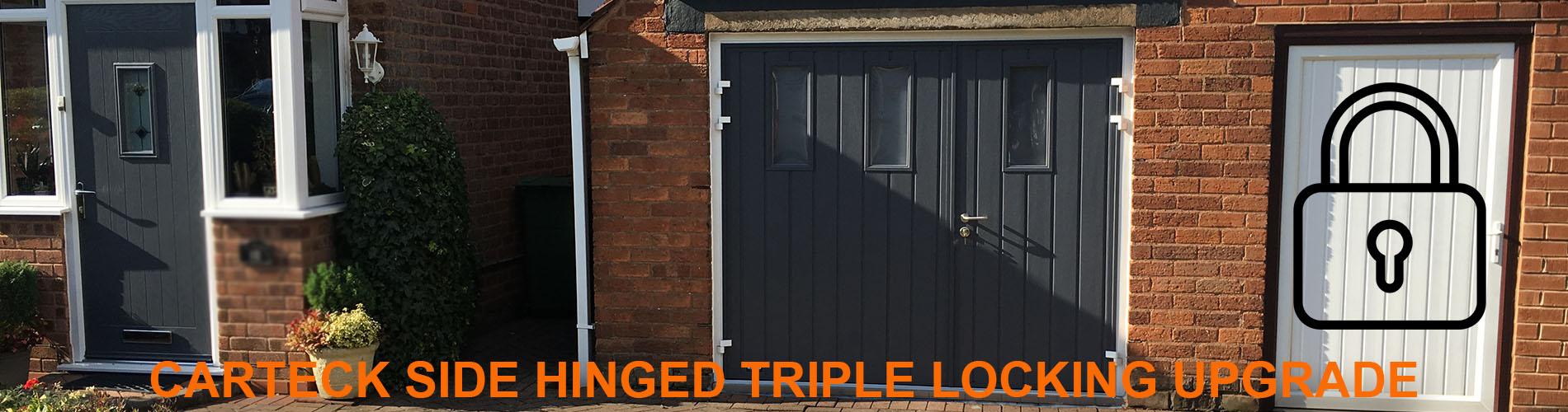 carteck sde hinged triple locking
