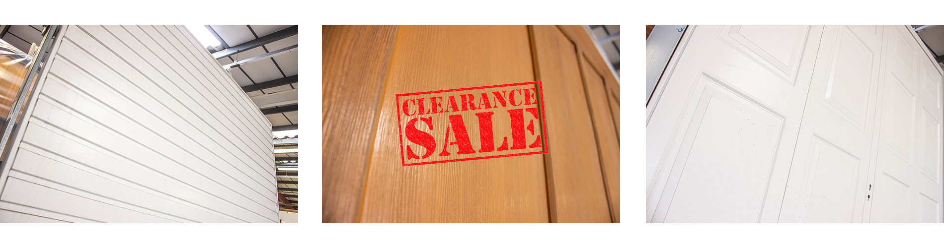 Clearance Door Sale