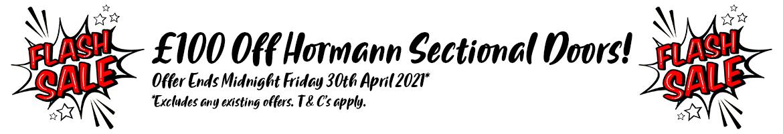 Hormann Sectional Flash Sale