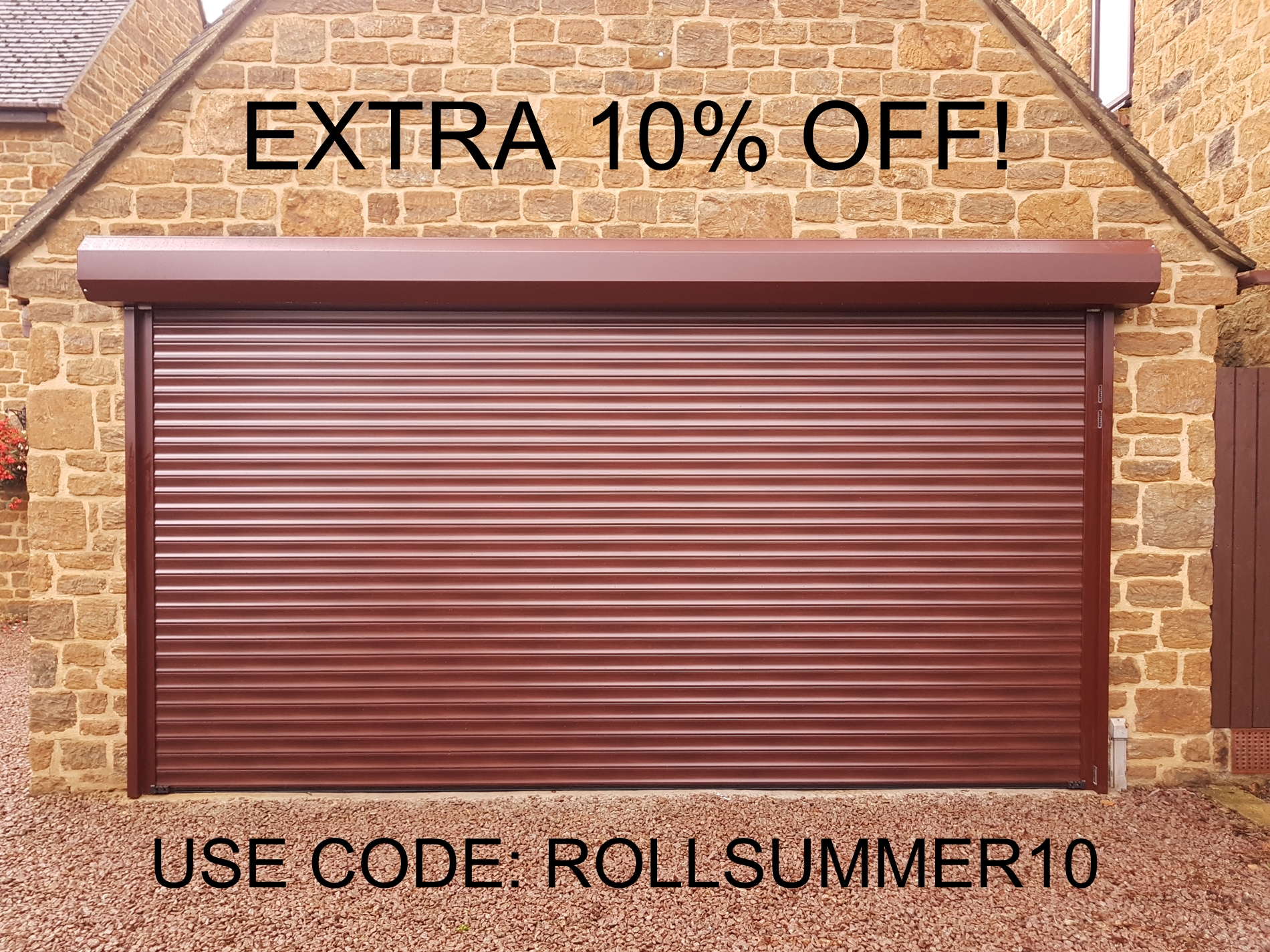 Black Friday Roller Garage Doors