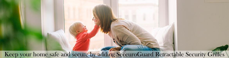 SeceuroGuard Retractable Security Grilles