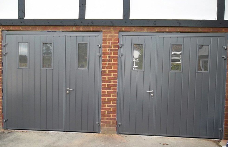 Carteck Insulated Side Hinged Doors Carteck Steel Double
