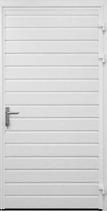 carteck std ribbed pedestrian door horizontal