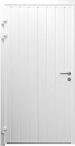Standard ribbed door design - vertical