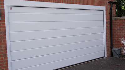 Carteck Centre Ribbed Sectional Door