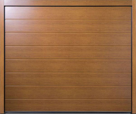 View Centre Ribbed Carteck sectional Doors in Shop