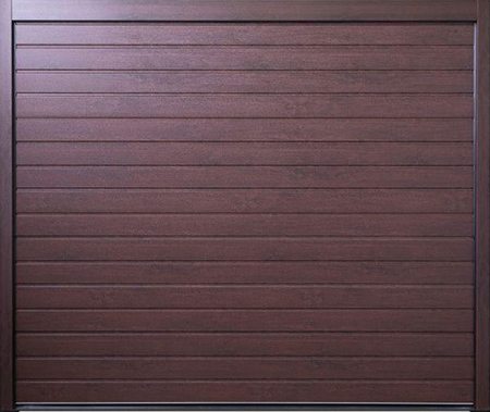 View Carteck Standard Ribbed Doors in Shop in woodgrain laminate finishes