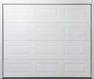 Carteck Sectional garage door - Georgian Panelled