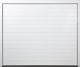 Carteck Sectional garage door - Standard Ribbed