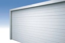 Carteck sectional garage door closed position