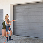steel insulated sectional garage doors from Carteck