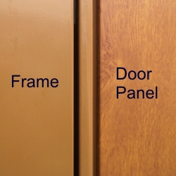 Hormann decograin golden oak door and frame