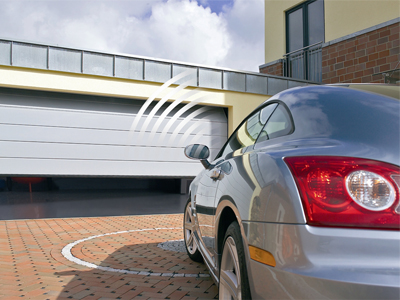 Hormann electrically automated garage door