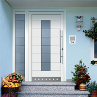 Standard Entrance Doors - white front door