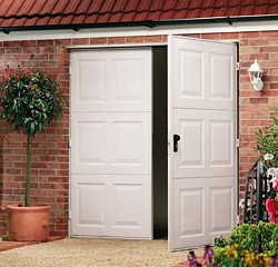 Garador Garage Doors Sectional Up And Over Side Hinged