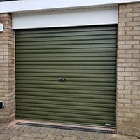 Gliderol roller steel door