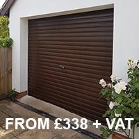 Gliderol single skin steel roller garage door