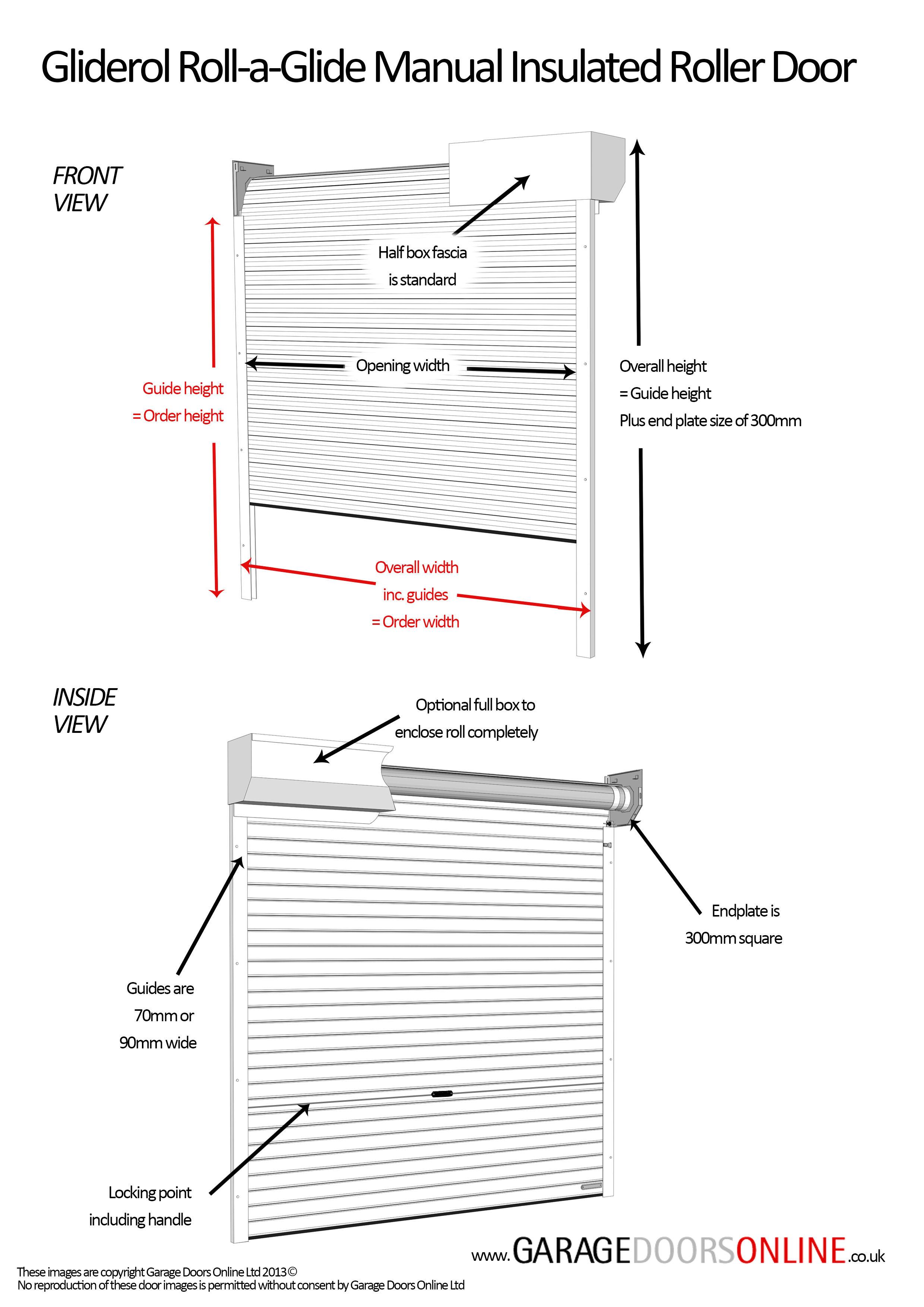 Gliderol Manual Roller Garage Doors