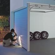 secure garage door openersectionalburglar175jpg