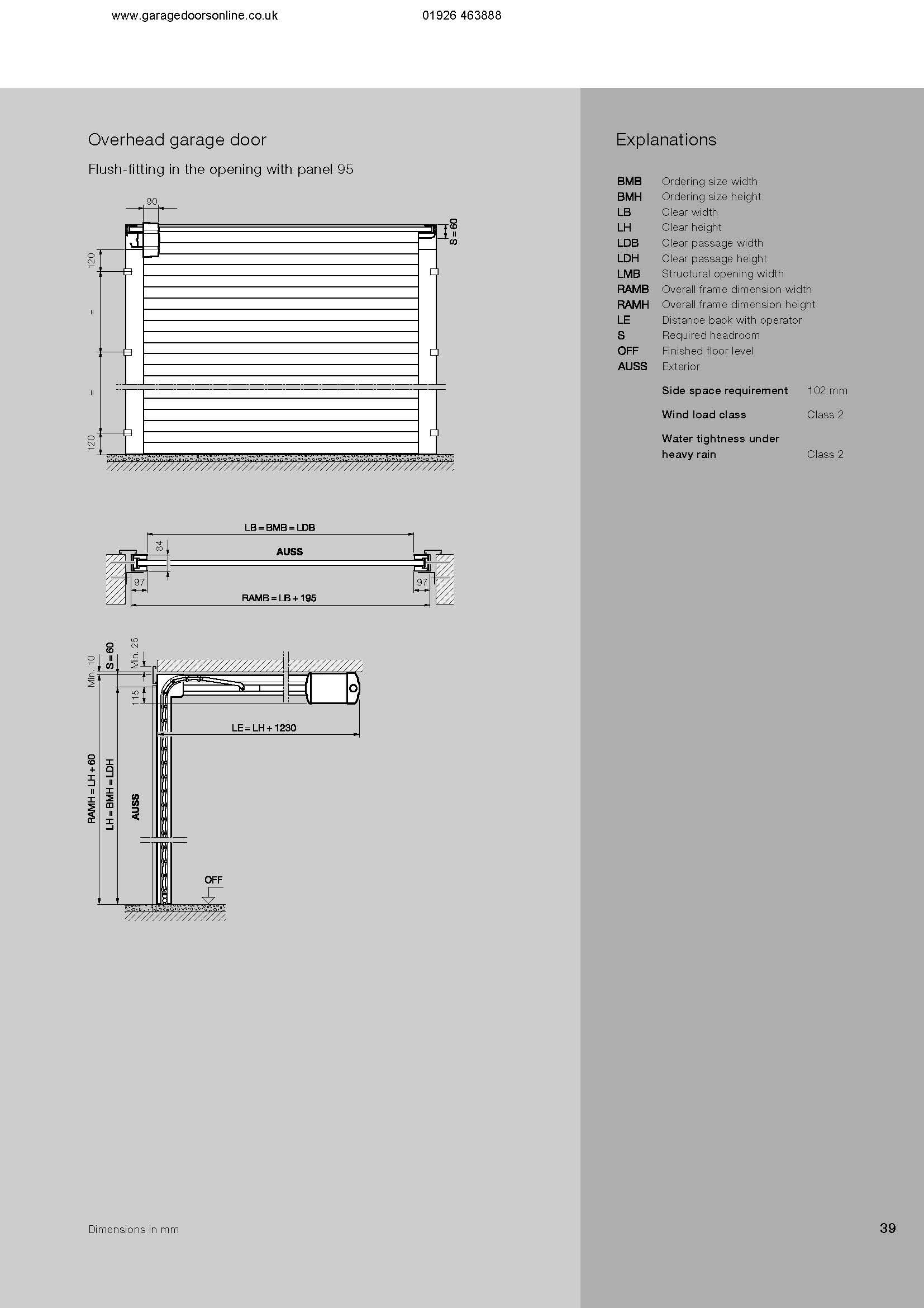 Hormann Aluminium Sectional Insulated Roller Door Hormann
