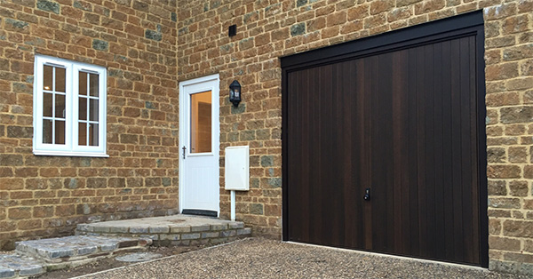 Hormann 2009 vertical timber up and over door
