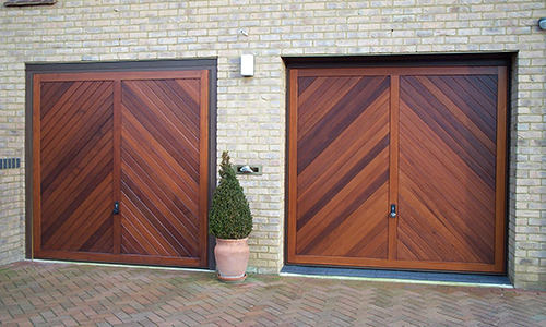 hormann timber up and over doors