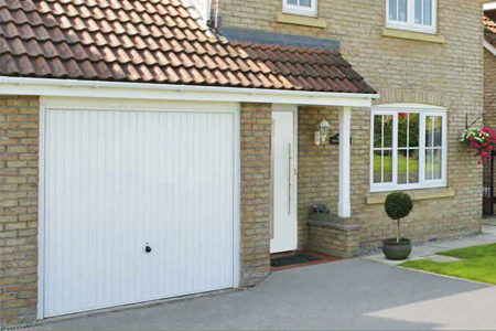 Hormann up and over garage doors - quality at its best