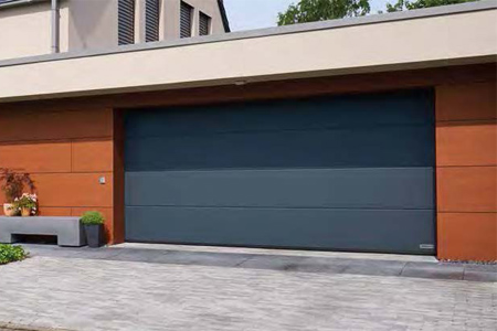 Hormann sectional garage door