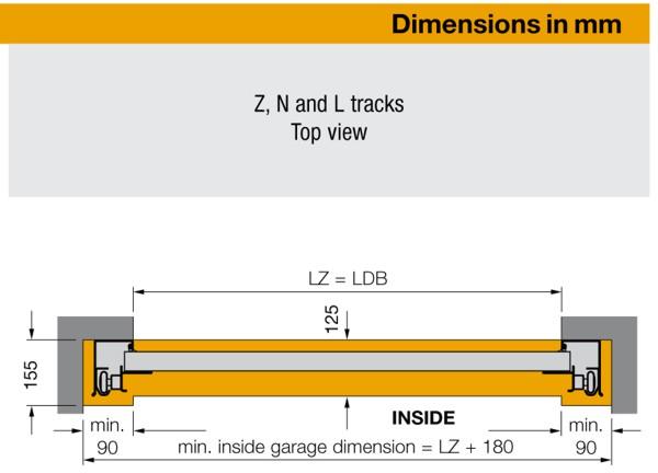 Technical Details And Measurements For Hormann Lpu40