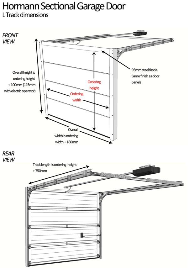 Dimensions For Hormann Sectional Garage Doors Hormann