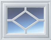 garador side hinged steel diamond window