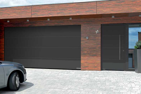 Matching Sectional Garage and Front Entrance door sets