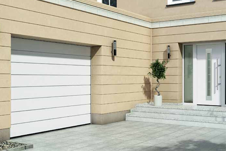Matching Sectional Garage and Front Entrance Doors