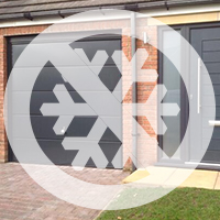 Non Insulated Sectional Doors