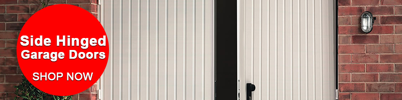 Side Hinged Garage Doors - Shop Now