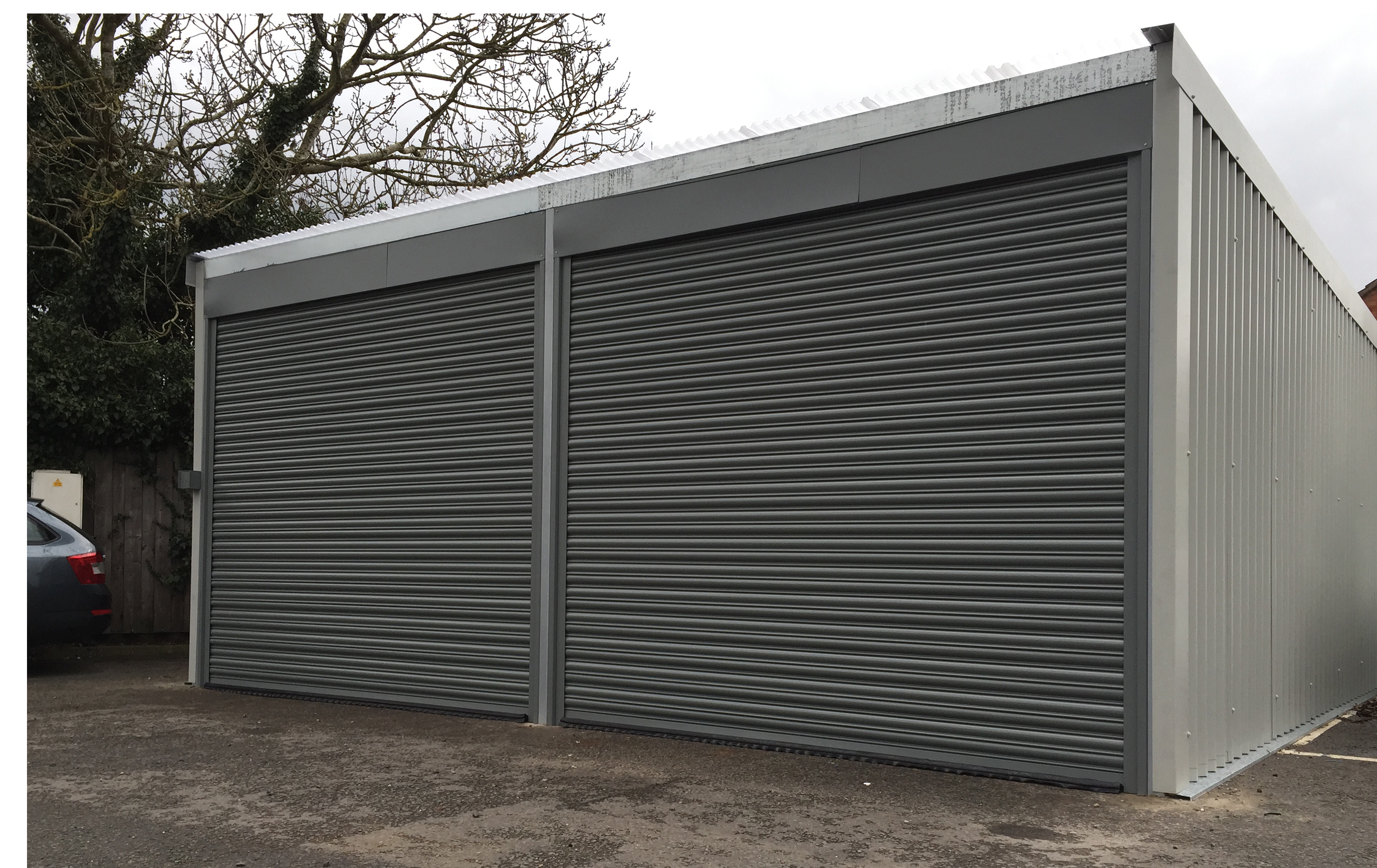 Roller shutter garage doors hrmann garador gliderol and one of the roller shutters most impressive properties is that its space requirements are minimal standing out from other doors roller shutters have a rubansaba