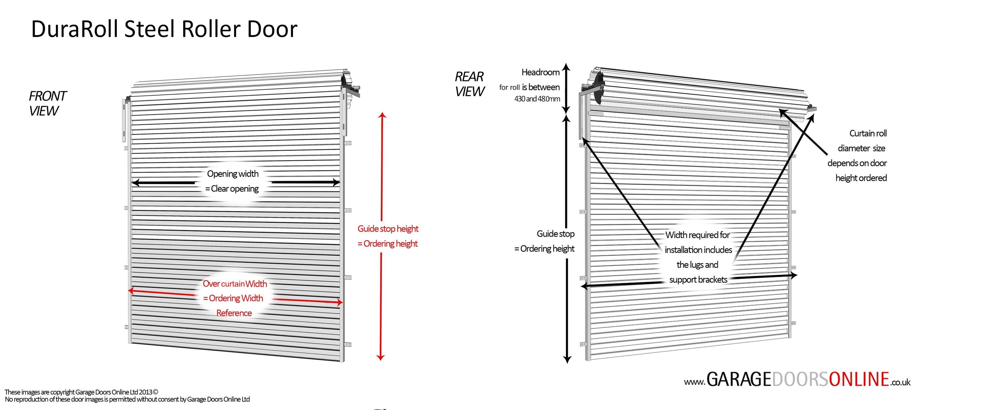 manual override electric garage door