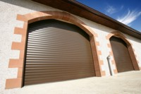 seceurolglide insulated roller doors for arched garage openings