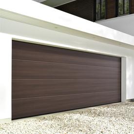 Hormann Decograin sectional garage door