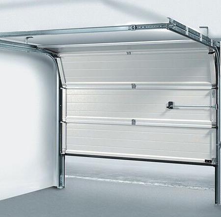 Elegant Internal view of sectional garage door Contemporary - garage door top seal In 2019