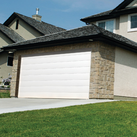 Seceuroglide sectional garage door
