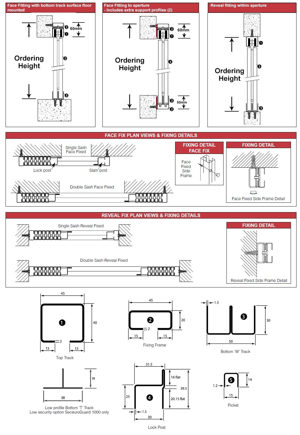 seceuroguard retractable gate installation guide