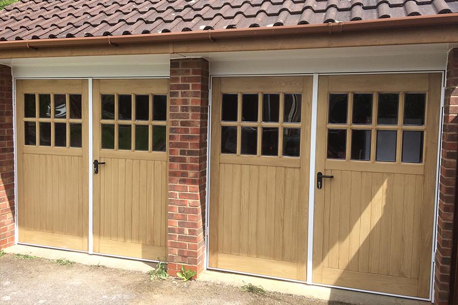 Timber Garage Doors Hormann Garador Woodrite And Cedar