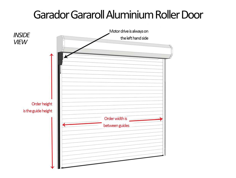 Garador Gararoll Roller Shutter Garage Door Garador