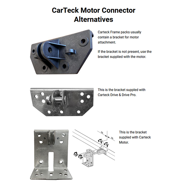 CarTeck Motor Connector Alternatives
