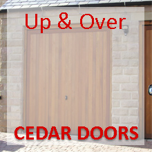 Cedar Up & Over Doors