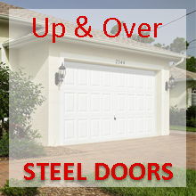Garador Up & Over Steel Garage Doors
