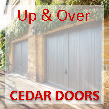 Woodrite Cedar Timber Up & Over Garage Doors