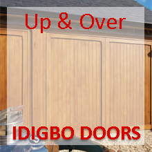 Woodrite Up & Over Idigbo Timber Garage Door